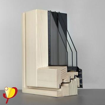 Hausplus optiwin mod resista das elegante holz alu fenster uw wert 0 65 w m2k - Uw wert fenster ...
